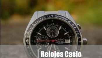 relojes casio edifice: opiniones y precios