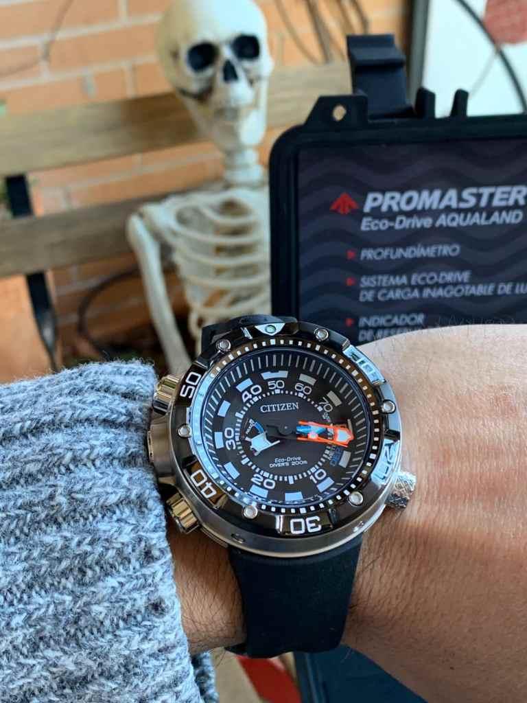 Citizen Aqualand Eco Drive Promaster BN2024-05E: diseño y perfecto para bucear (certificado ISO6425)