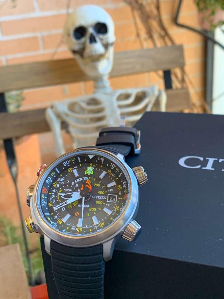 Citizen Eco Drive BN4021-02E Altichron: funciones