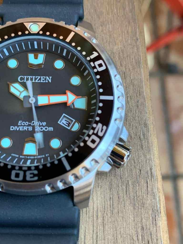 Reloj Citizen Eco Drive BN0150-10E Promaster: esfera y bisel giratorio para buceo