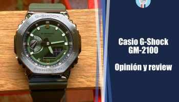 Casio G-Shock GM-2100: la versión metálica del GA-2100 - opinión y review