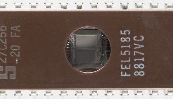 Tech Flashback: The (beautiful) EPROM Chip Collection