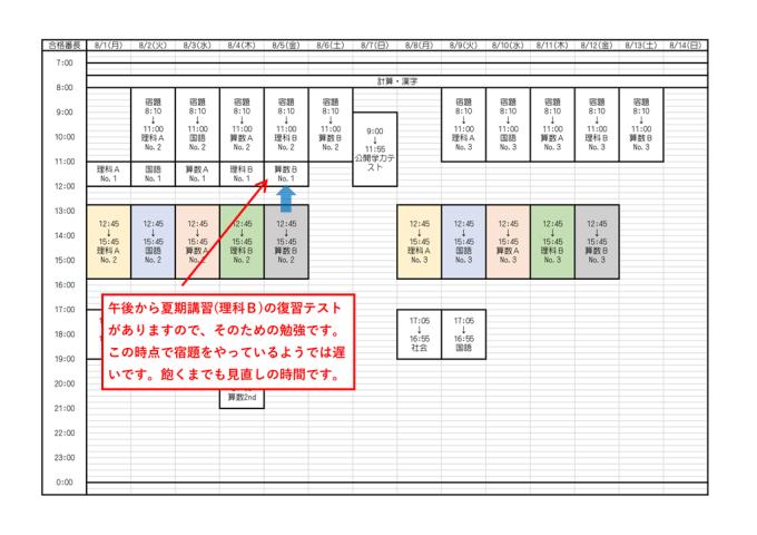 合格番長_2016年度版_夏の予定表_14-2