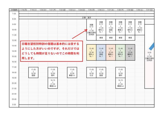 合格番長_2016年度版_夏の予定表_18-1