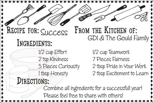gould-recipe-for-success