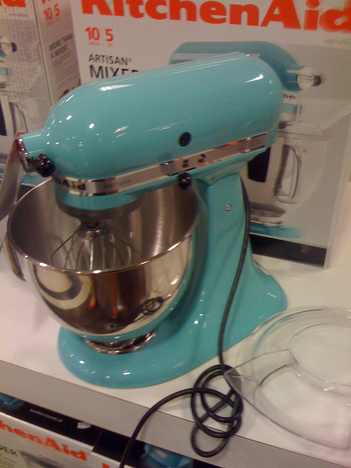 KitchenAid Martha Stewart Blue Collection Kitchen