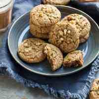 Flourless Walnut Cardamom Cookies (Gluten-Free, Paleo)