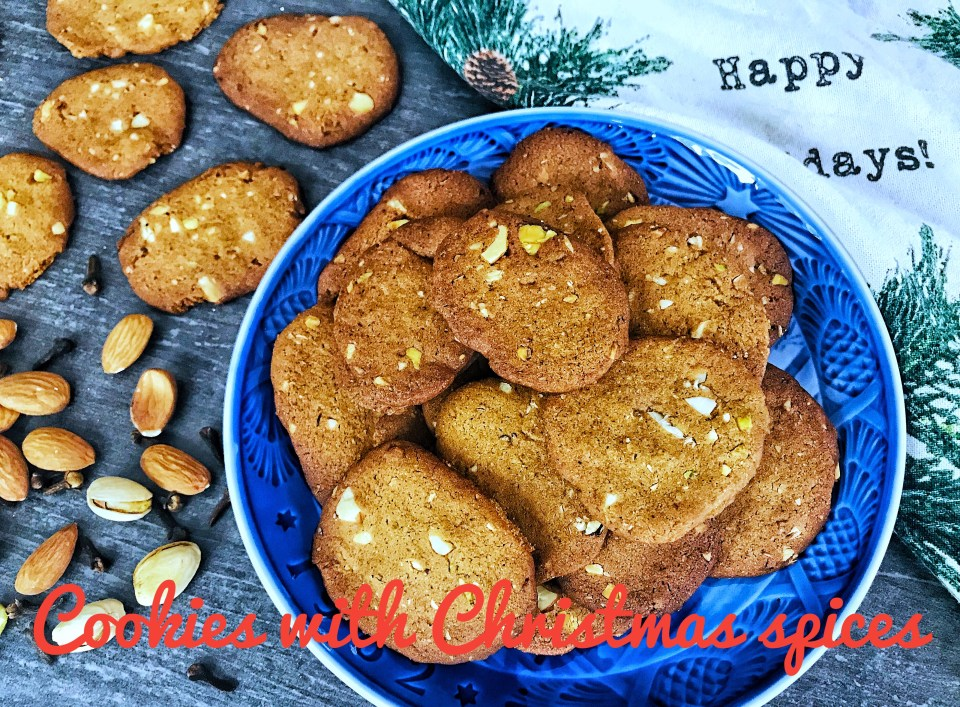 Christmas spice cookies - Danish brunkager