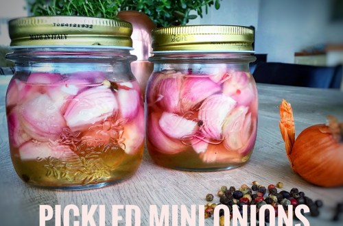 Pickled mini onions recipe