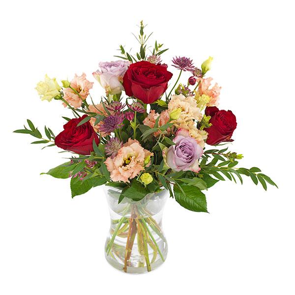 Send blomster på døra - Omtanke