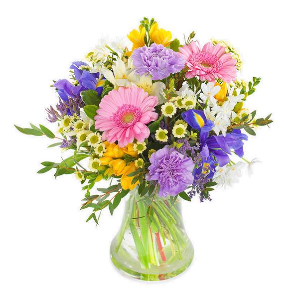 Send blomster på døra - Vårprakt