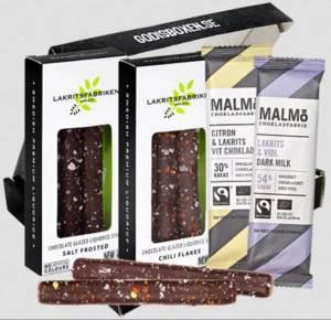 Choklad och lakritsbox