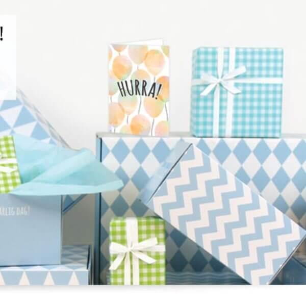 Skicka present: Bluebox exempel