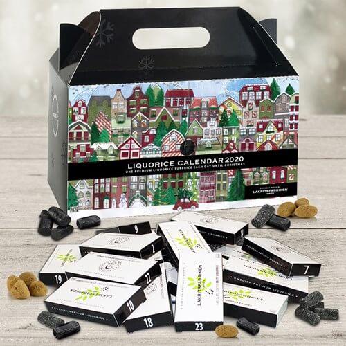 Populär present att skicka till jul: Adventskalender (lakritsfabriken)