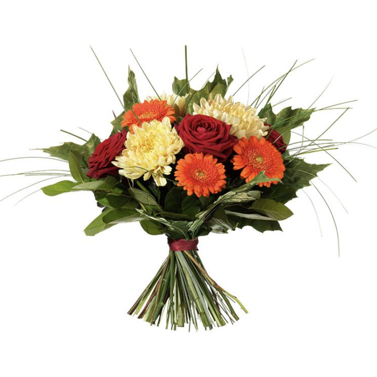 Höstkänsla blommor