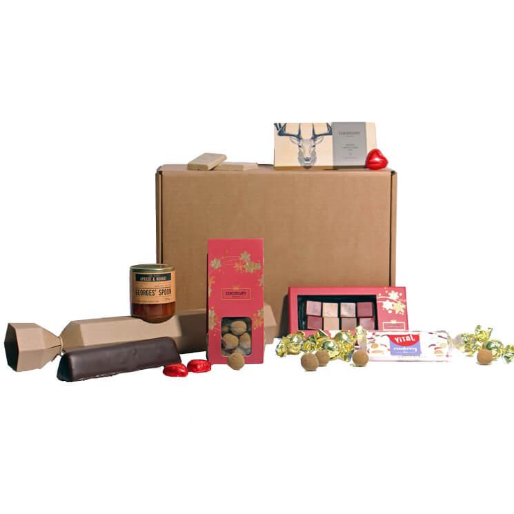 Presentbox till julen - julboxen är av stor storlek