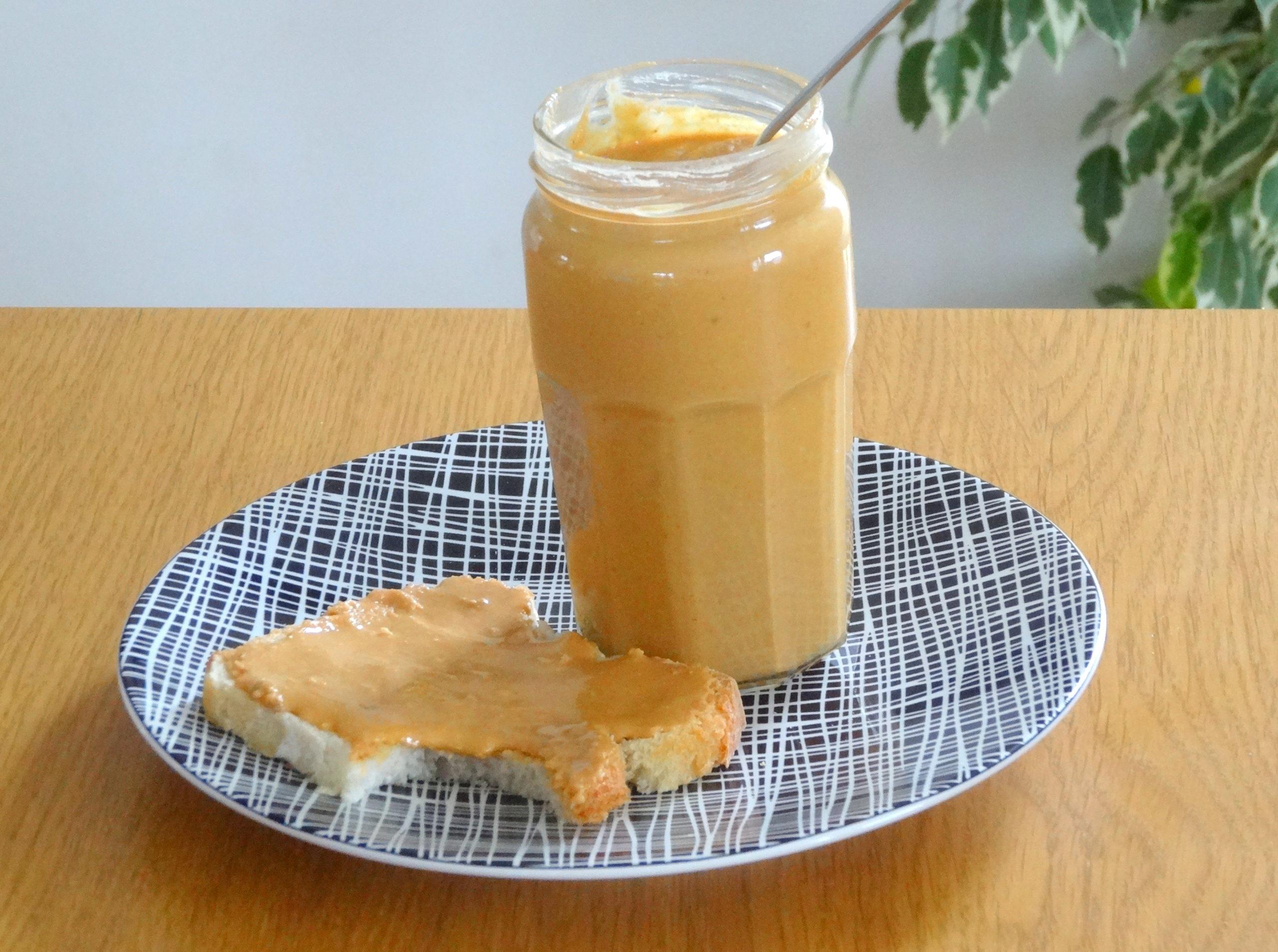 Photo de beurre de cacahuète maison pour accéder à la recette
