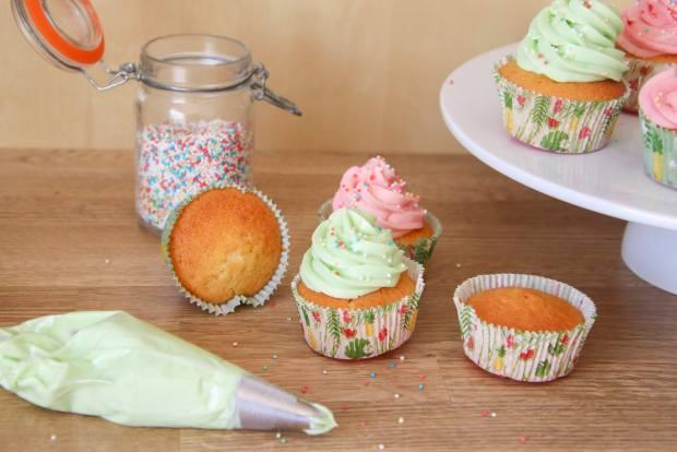 Résultat des cupcake facile à la vanille