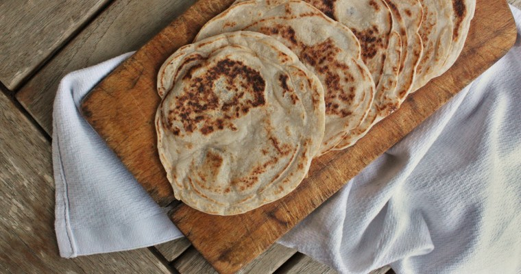 Flat breads sains et gourmands