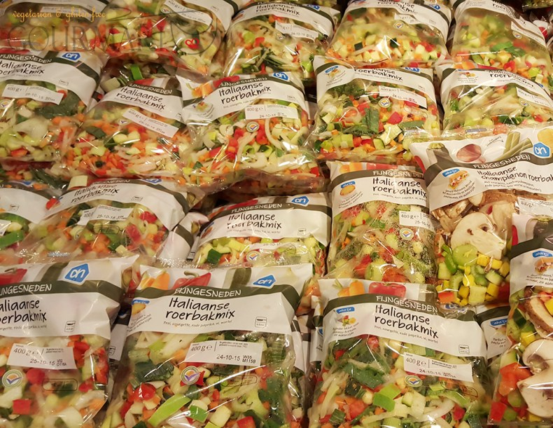 Ready-made Vegetable in Packages