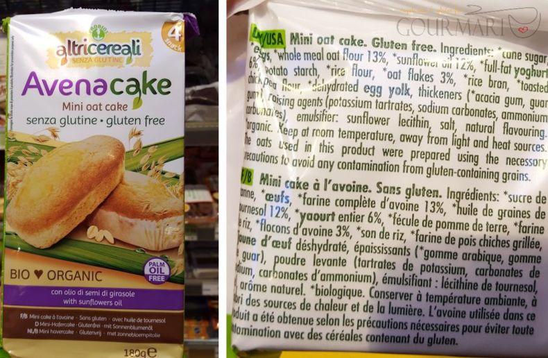 Oat Cake made from gluten-free oats