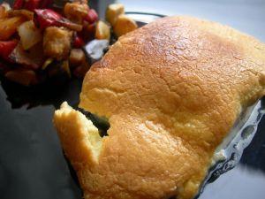 Bacalao con muselina de ajo. Fuente: http://www.cocinandoentreolivos.com/
