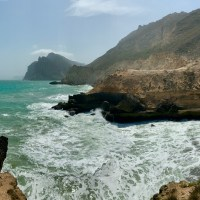 Mughsail: blowhole, lookouts and beach