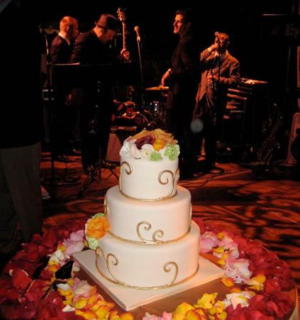 Wedding Cake and Jazz Band