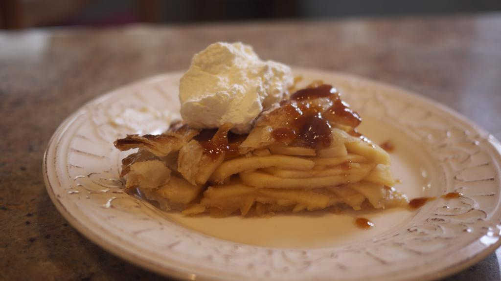 Calvados Apple Pie