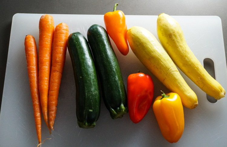 vegetables for pasta primavera