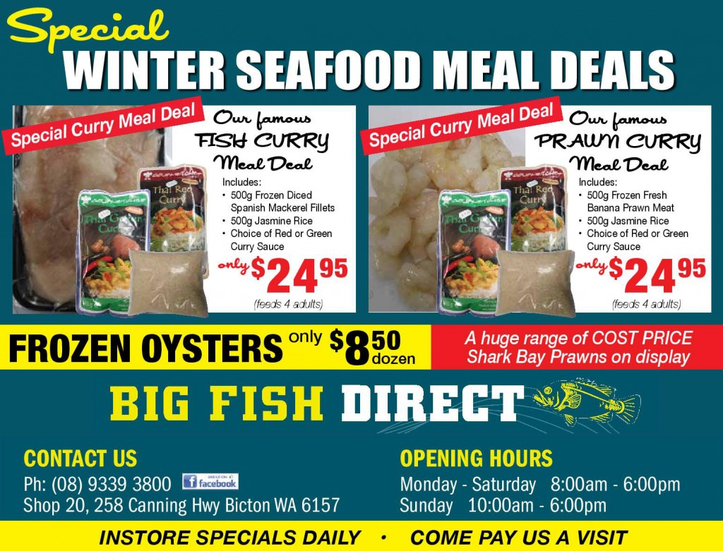 Big Fish Direct Special Gourmetchef Sauces Winter 2015