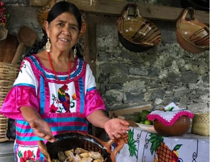 Cooks from Oaxaca win award in the first congress of peas of the world 1