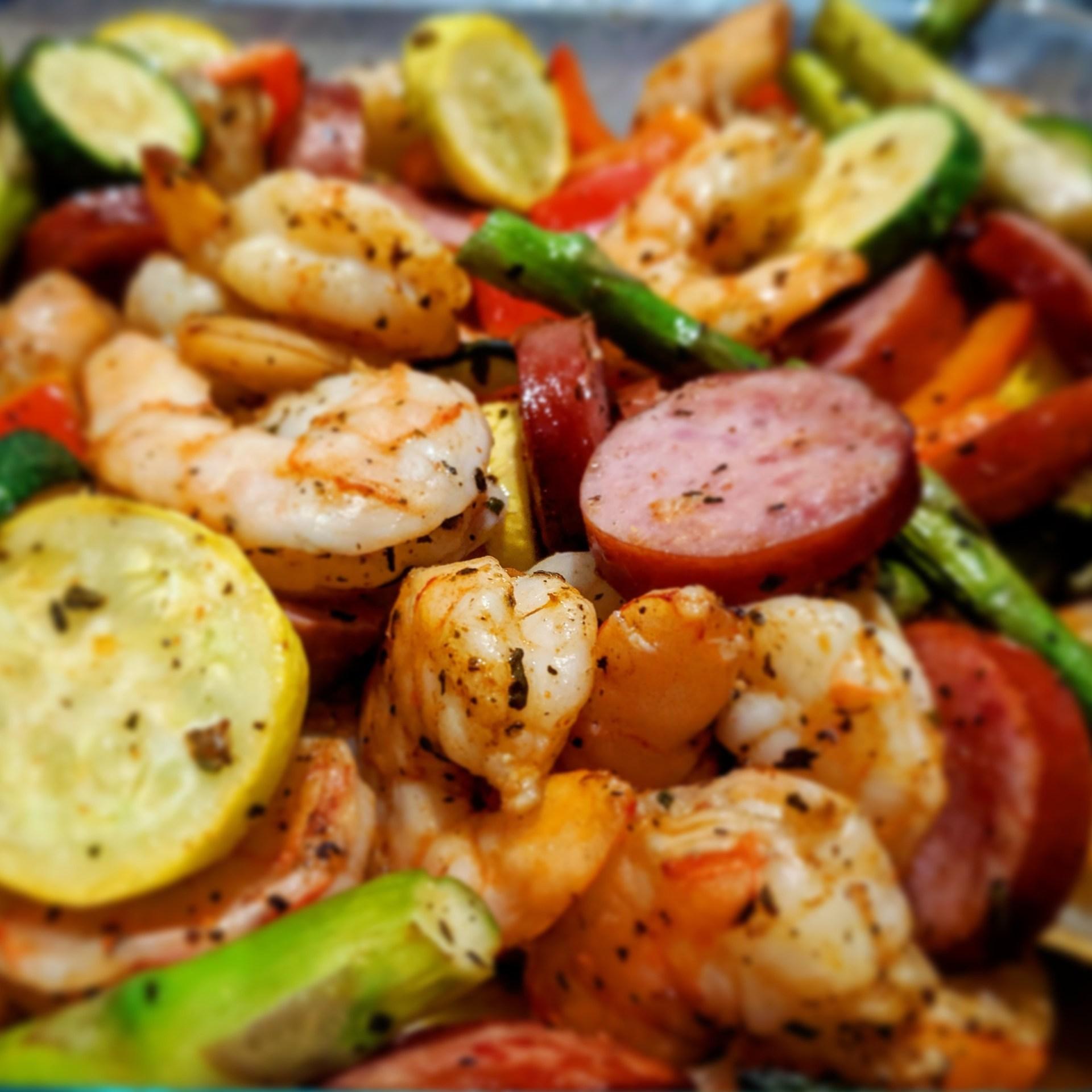 air fryer shrimp boil