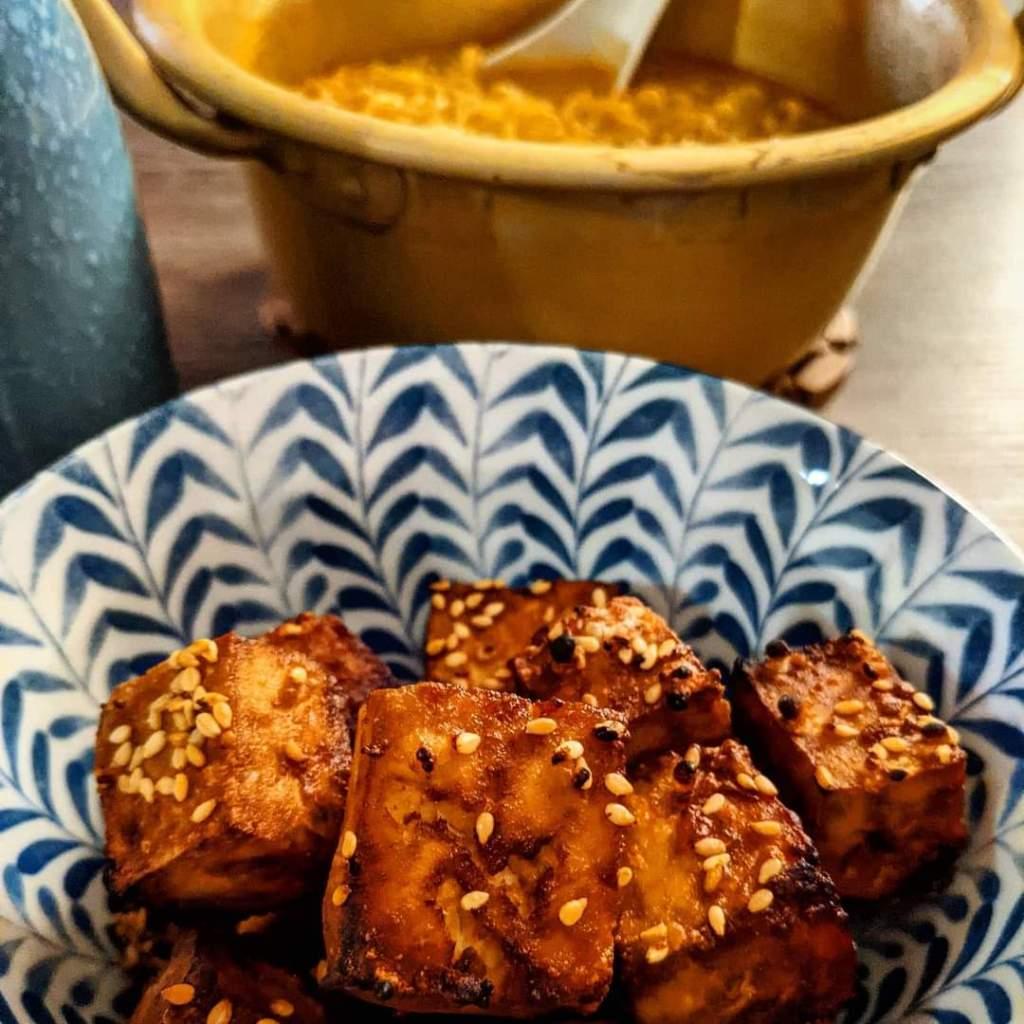 Air Fry Tofu