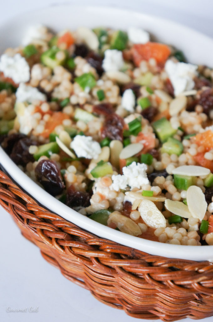 Gourmet Gab Orange and Dried Cherry Cous Cous Salad