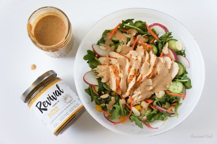 Gourmet Gab Almond Butter Dressing