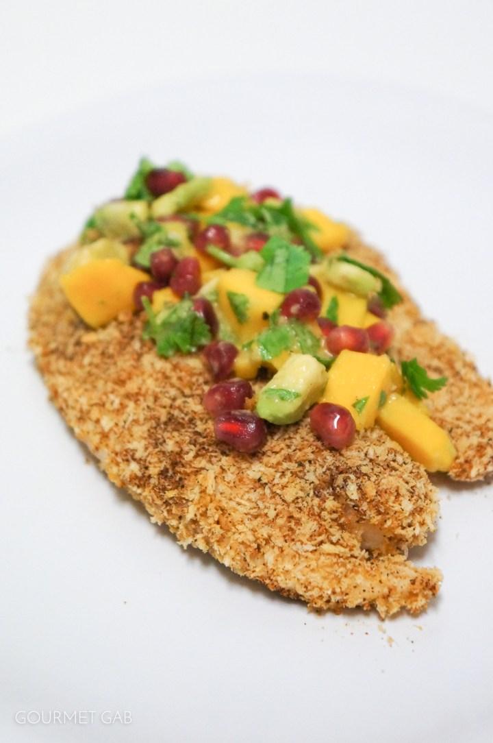 Gourmet Gab Panko Crusted Tilapia