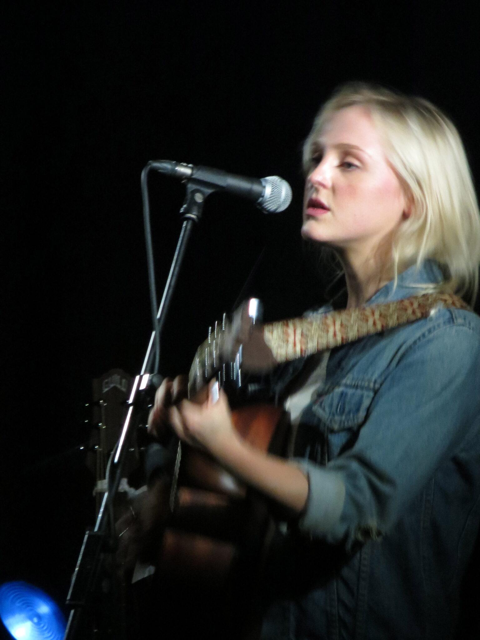 Laura Marling sings at York Hall, Bethnal Green