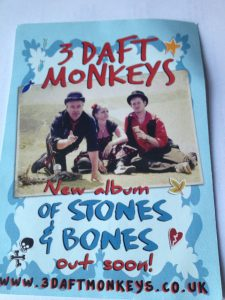3 Daft Monkeys flyer