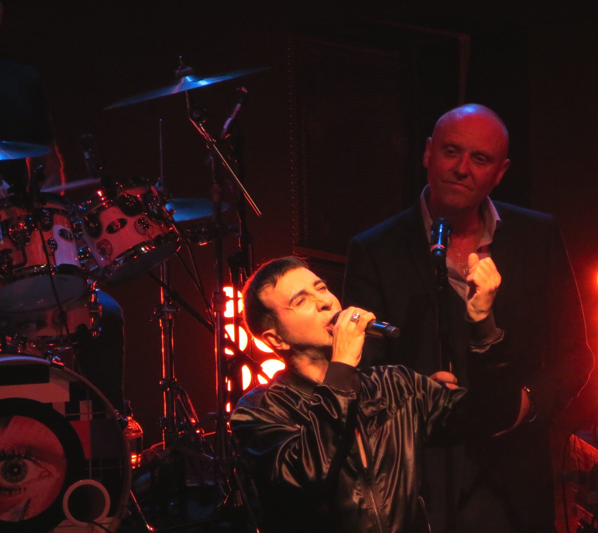 Marc Almond sings at Holy Holy gig