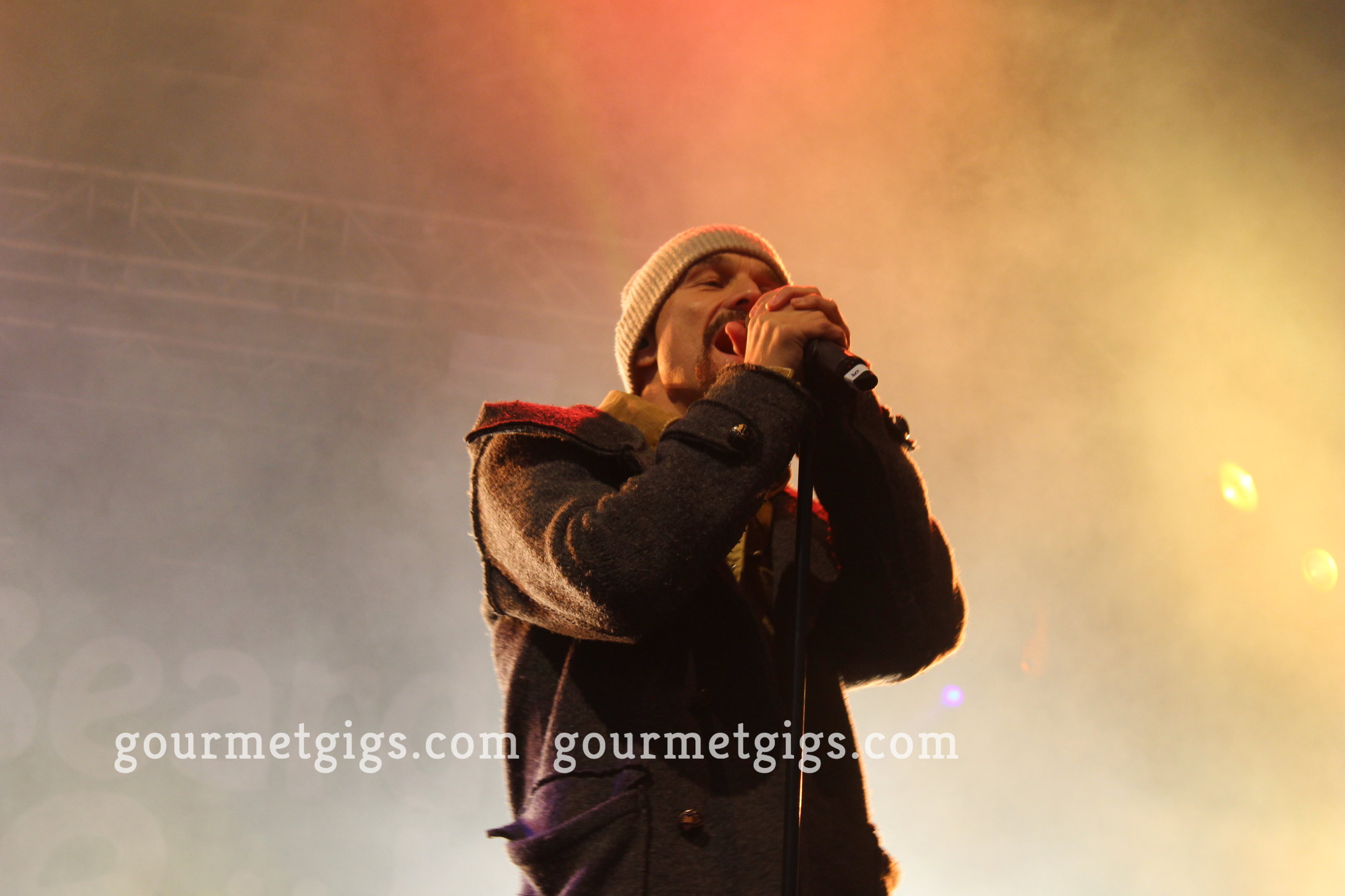 Tim Booth from James