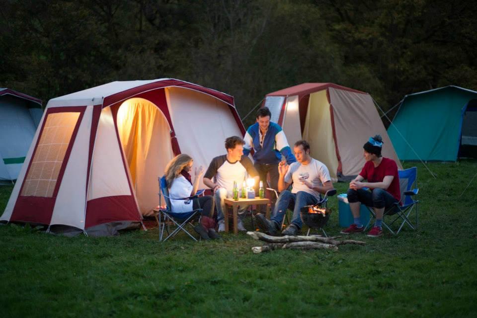 Vintents campfire at festival