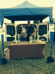 Kingshotts coffee, festival trader