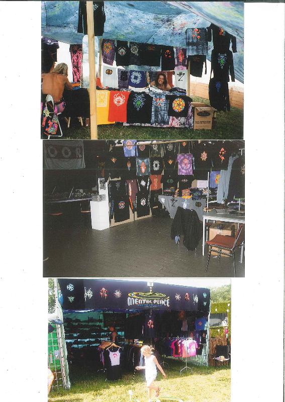 Mental Peace festival traders