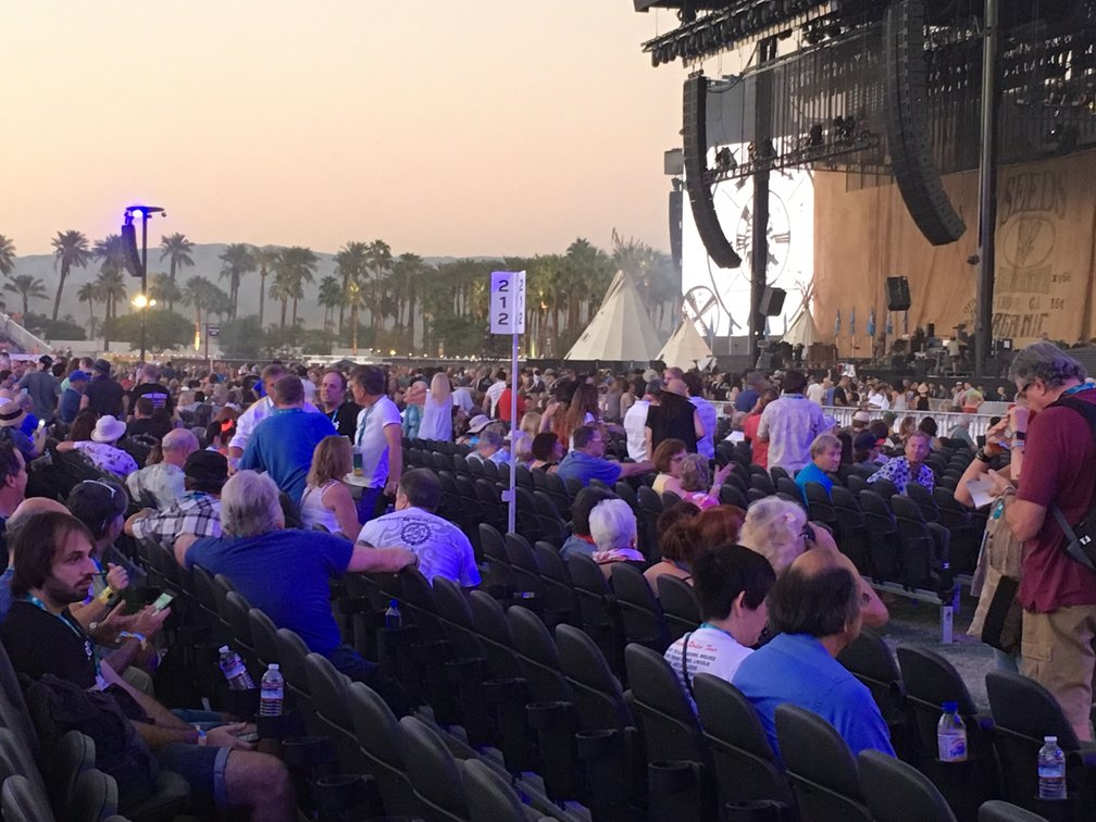 Seats at Desert Trip