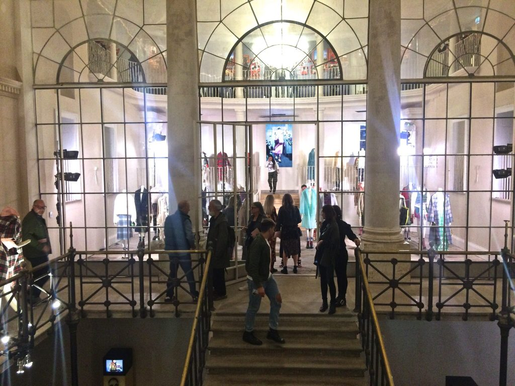 Old Sessions House during the Here we are exhibition