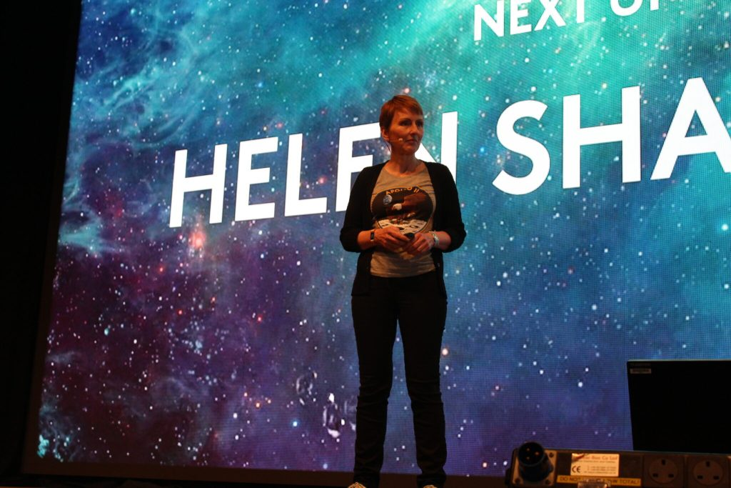 Helen Sharman at Bluedot