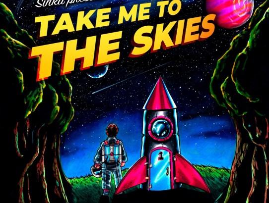Sinka band artwork for Take me to the Skies