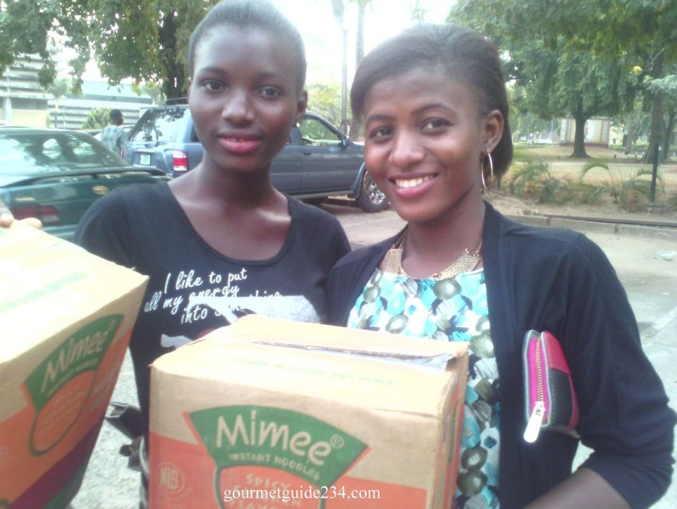 winners of gourmetguide interactive food show on UNILAG RADIO 103.1FM