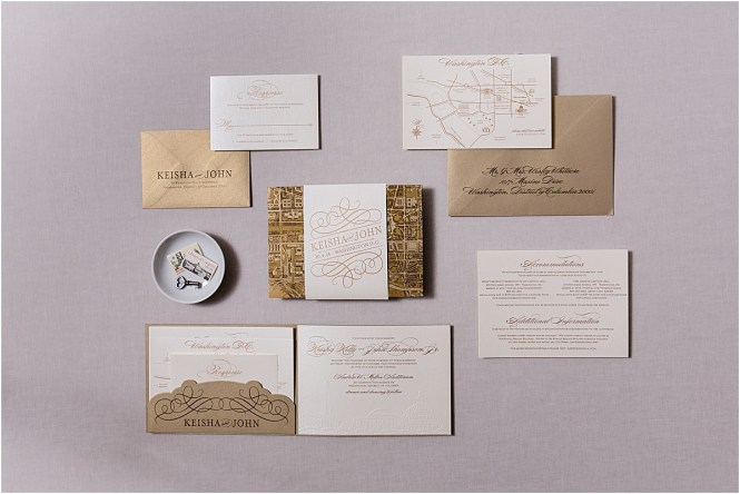 Washington Dc Themed Wedding Invitations Gourmet